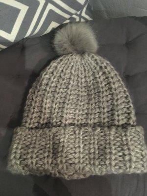 H&M Crochet Cap light grey-grey
