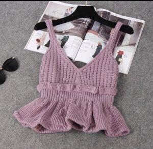 Crochet Top multicolored