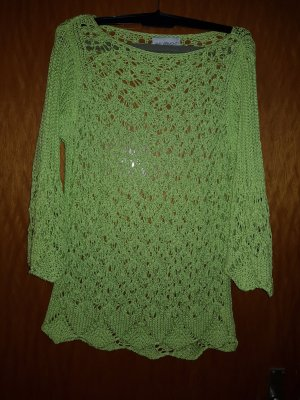 Super Qualität elegantes Aussehen um 50 Prozent reduziert Amy Vermont Crochet Sweater meadow green