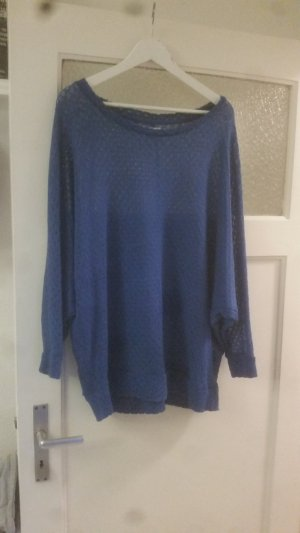 Only Pullover all'uncinetto blu fiordaliso