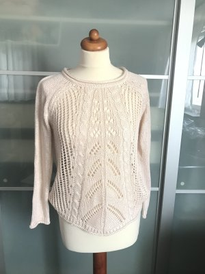Atmosphere Crochet Sweater pink