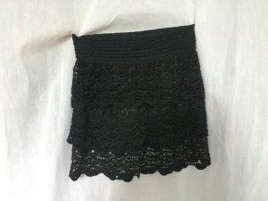 Pense à Toi Jupe tricotée noir