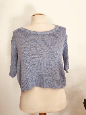H&M Crochet Shirt azure