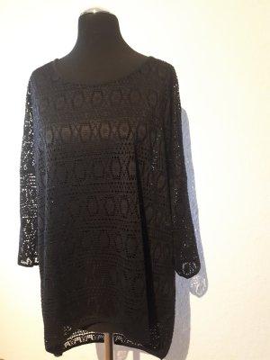 Vero Moda Crochet Shirt black