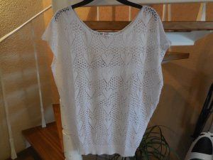 Even & Odd Knitted Top white