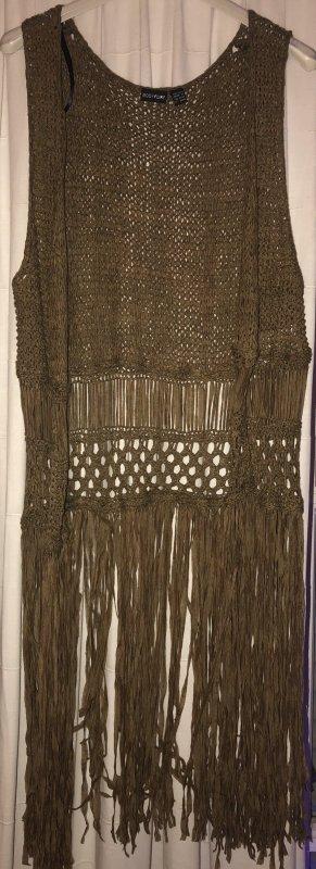Bodyflirt Crochet Cardigan khaki