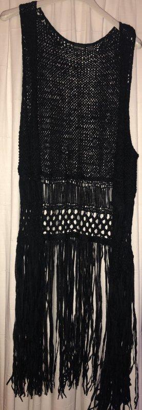 Bodyflirt Crochet Cardigan black