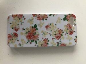 Händy Hülle in weiss-rose-beige Farbe . Für Iphone 5.