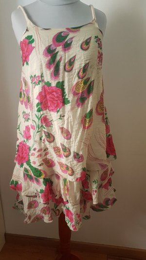 Lavand Vestido estilo flounce multicolor