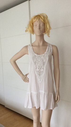 Zara Vestito da spiaggia bianco