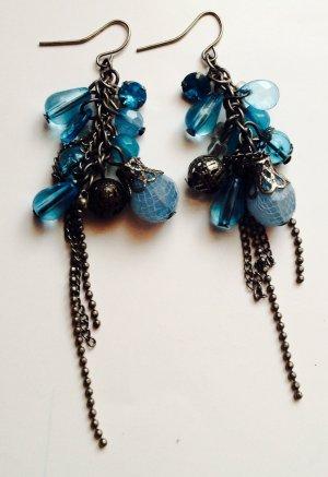 hängende Ohrringe Farbe: hellblau