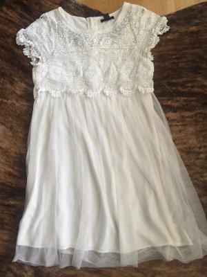 Hängerchen Empirekleid Kleid Dress Lace Tüllkleid Tütü Babydoll