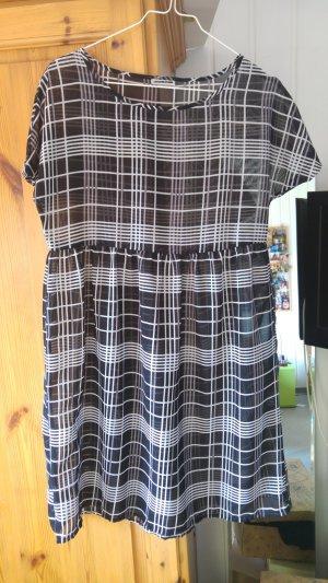 Noisy May Babydoll-jurk veelkleurig Gemengd weefsel