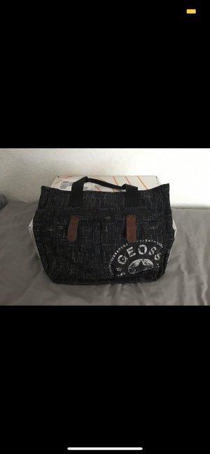 Shoulder Bag black-white