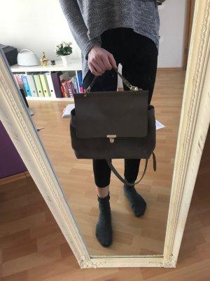 Hänkeltasche Schultasche Lehrertasche taupe