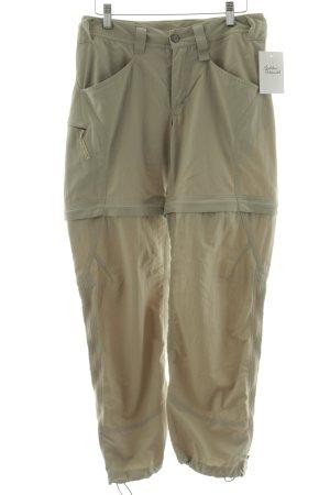 Haglöfs Pantalone cargo beige chiaro stile atletico