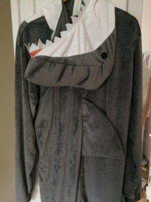 Hai Kostüm - shark Onesuite Halloween Fasching Verkleidung Overall