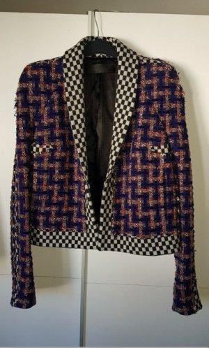 HAIDER ACKERMANN Bouclé Blazer Tweed Jacke Gr. 42