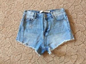Haighwaist Jeansshorts von Zara Größe 34