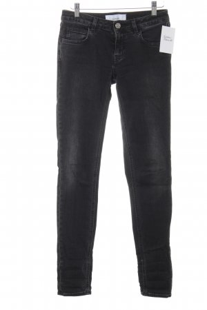 haikure Skinny Jeans schwarz-grau Casual-Look