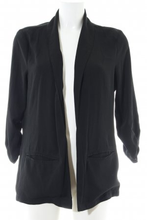 Hailys Cardigan schwarz Business-Look