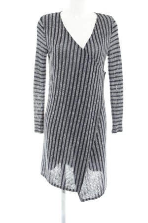 Hailys Cardigan weiß-dunkelblau Streifenmuster Casual-Look