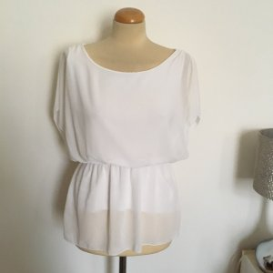 Hailys Empire Waist Top white