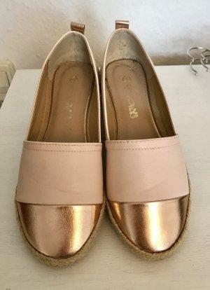 Hailys Schuhe Rosa/Gold