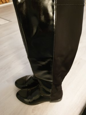 Stretch Boots black