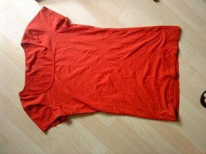Halbarm Basicshirt rot Vero moda M