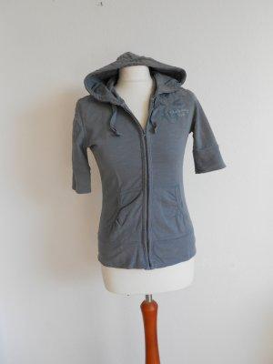 H&M Veste chemise gris