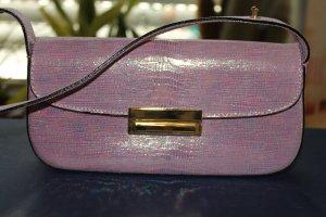 Halber Preis: Handtasche von Elegance in flieder-lila irisierenden Farben; Leder; ungetragen!