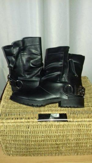 halbhohe Biker boots