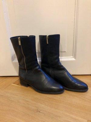 Gino Rossi Winter boots zwart-goud Leer
