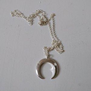 Zilveren ketting lichtgrijs-zilver