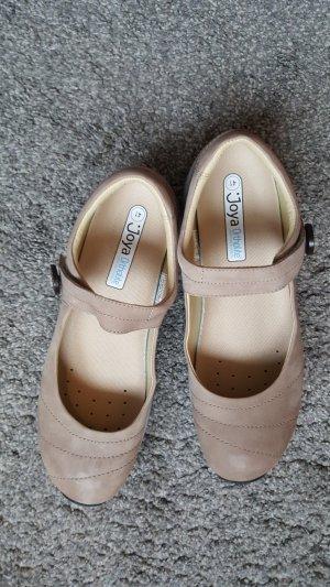 Joya Mary Jane Ballerinas beige