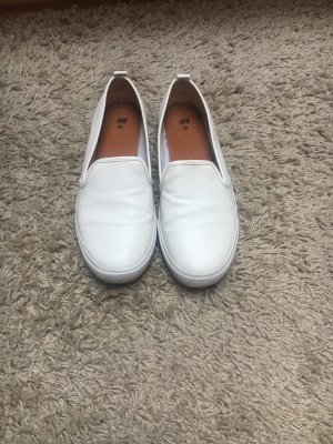 H&M Slip-on Shoes white