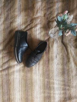 Graceland Zapatos estilo Oxford negro