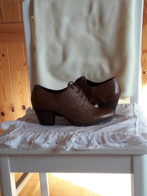 5th Avenue Lace Shoes brown leather