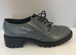 Heine Zapatos Budapest gris Cuero