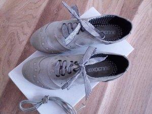Halbschuhe Damen Schuhe Schnürschuhe Trachtenschuhe zum Dirndl Gr. 36 NEU