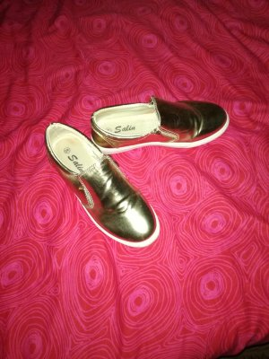 8 Slippers gold-colored