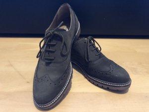 5th Avenue Lace Shoes olive green-khaki