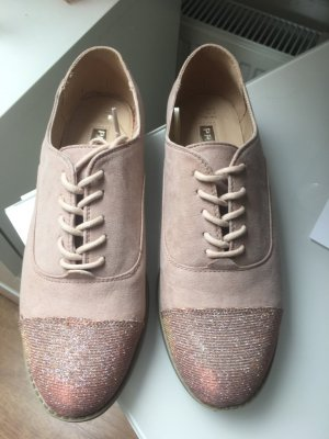 Atmosphere Chaussures à lacets rose clair