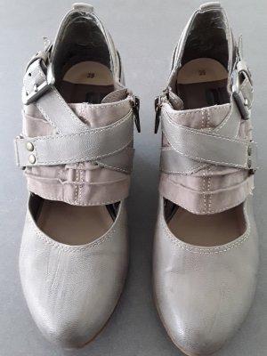 s.Oliver Zapatos Mary Jane gris verdoso