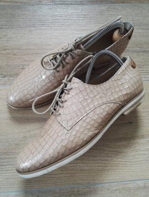 Chaussures basses beige-blanc