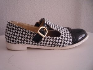 Chaussures Mary Jane noir-blanc