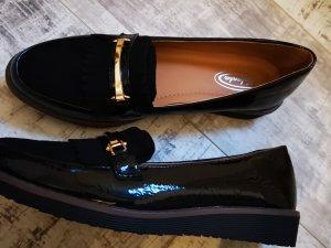 Pantoffels zwart Imitatie leer