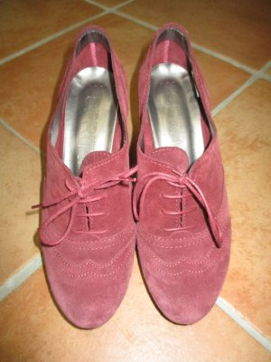 Esprit Lace Shoes multicolored suede