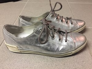 Gabor Lace Shoes silver-colored-light grey